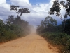 The road to Rurrenabaque. In the lowland dry and dusty.