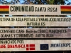 In Ixiamas was this sign posted, a project also under way sponsored by the government of Denmark and the European Union to supply drinking water to the people, next to the most gorgeous mountain stream…